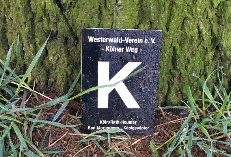 Schild Kölner Weg